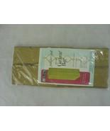 Vintage MCM Fashion Home Quilted Hanging Garment Closet Organizer 1964 G... - $29.69