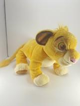 Disney Store Simba Lion King Guard Stuffed Animal Plush Toy 12'' - $13.36