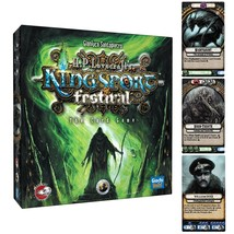 Kingsport Festival Card Game H.P. Lovecraft Horror Cthulhu Passport Game... - $18.32