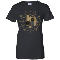 Guitar Circle of Fifths Special G200L Ladies Cotton T-Shirt - $24.00+