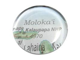 Kiola Designs Kalaupapa National Historic Park Hawaii Map Pendant Magnet - $19.99