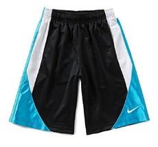 Nike Little Boys Colorblocked Avalanche Shorts, Black/Blue Lagoon, Size 3T - $13.85