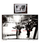 NOTED PHOTOGRAPHER HELMUT HIRLER ORG 1992 SIGNED -COPS -BLOOD -MANHATTEN - $199.99