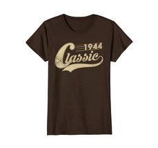 Funny Shirts - Classic Retro Made In 1944 74th Birthday Gifts 74 year old Wowen image 5