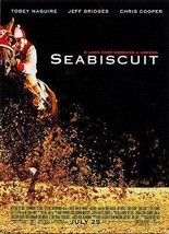 Seabiscuit Racing Horse Legend 2003 Movie Ad - $14.99