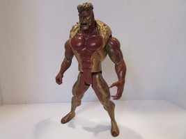 Marvel 1993 Action Figure X-MEN Metallic Mutants Sabre Tooth L133 - $4.75