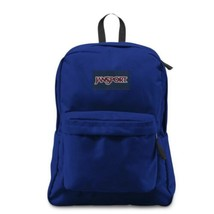 JanSport SuperBreak Blue Backpack Lightweight School Bookbag Back to School - $29.99