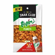Snak Club Snak Club Tajin Clasico Peanuts 2.75Oz, 12Ct, 2.75 Oz - $21.77