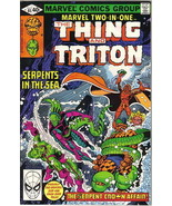 Marvel Two-In-One Comic Book #65 The Thing and Triton, Marvel 1980 FINE+ - $2.50