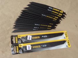 "Dewalt Demolition Reciprocating Saw Blades Lot Of 24 Blades Total 9"" Inch - $47.99"