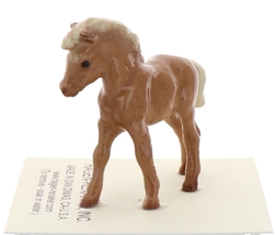 Hagen-Renaker Miniature Ceramic Horse Figurine Chestnut Shetland Pony Colt image 2
