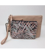 Nine West Table Pouch Large Clutch Cameo Rose - $15.00