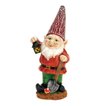 David Gnome, The Mini Solar Lawn Yard Garden Gnomes Funny Figurines - $31.27