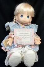 """Rare Precious Moments 1992 Preferred Doll Retailer Series """" Amy """" Limite... - $129.99"""