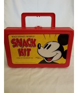 Mickey Mouse Lunchbox Walt Disney World Snack kit with napkins and stickers - $12.82