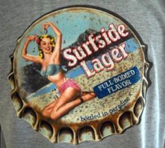 Surfside Lager  Beer Vintage Retro look  Men's T Shirt - $13.95