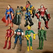 Marvel 2006 ENT Toybiz ultra detail Figures lot Capt. America Electro Bishop 8pc - $56.09
