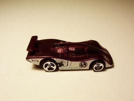 Hot Wheels Secret Service Infiltration Rear Engine Purple Metallic Car 1... - $6.99