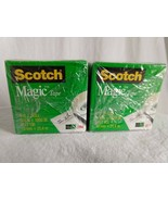 "3M Scotch Magic Invisible Tape, 810, 3/4"" x 1000"" Photo Safe, Matte Fini... - $15.10"