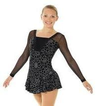 Mondor Model 662 Ladies Skating Dress - Black/Silver Size Adult Small - $110.00