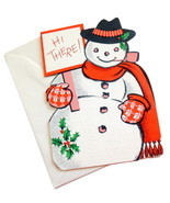Vintage Frosty The Snowman Ambassador Christmas Greeting Card Die Hi The... - €6,16 EUR