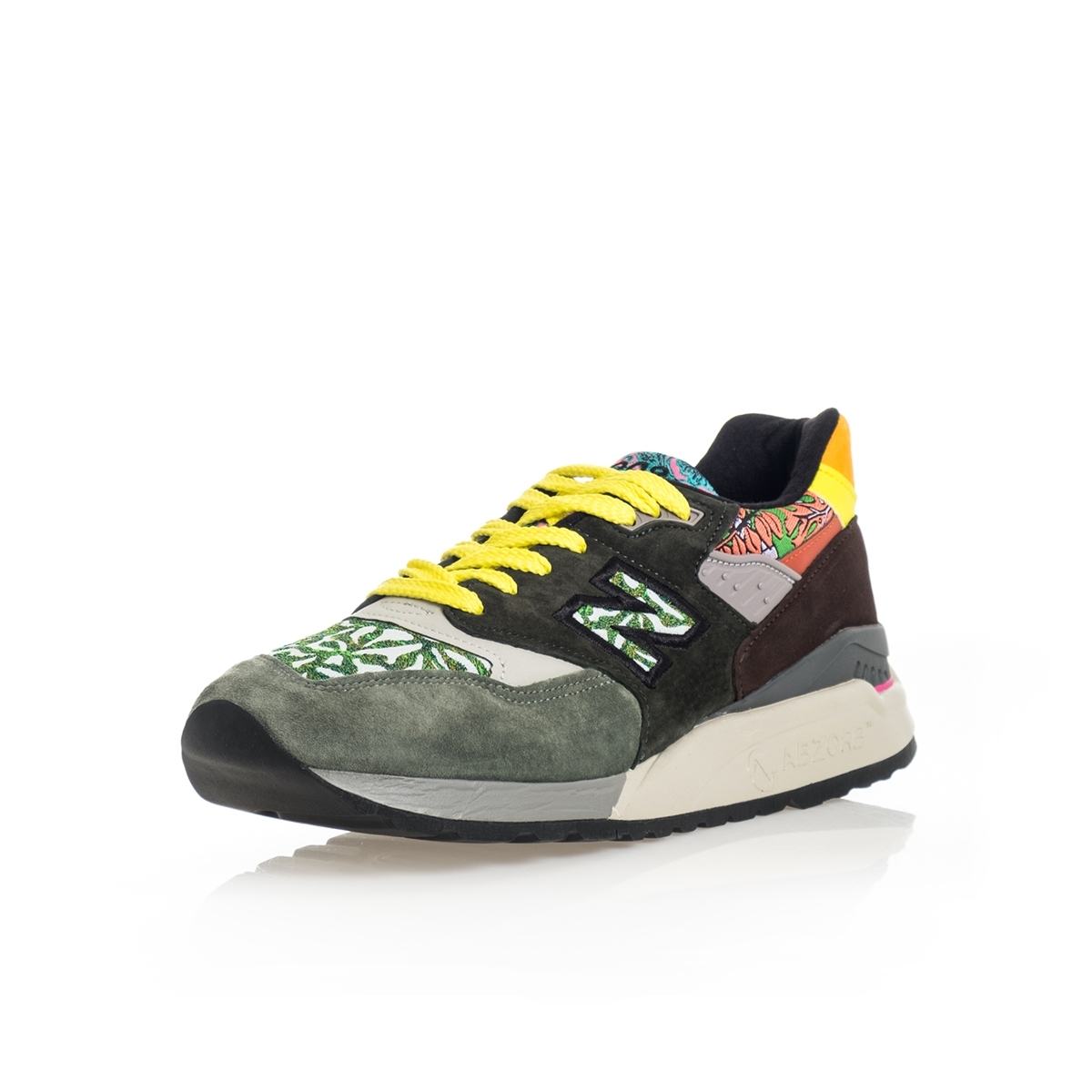 SNEAKERS UOMO NEW BALANCE LIFESTYLE 998 M998AWK MADE IN USA GREEN image 2