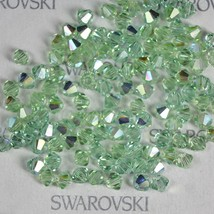Swarovski Crystal Element 5328 5301 3mm Xilion Bicone Beads CHRYSOLITE A... - $5.72+