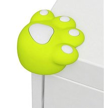 Set of 4 Bear Paw Baby Safe Table Corner Guard Cushion Corner Protectors GREEN