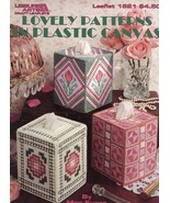 Lovely Patterns Tissue Covers LA1621 Plastic Canvas PATTERN/Instructions... - $3.57