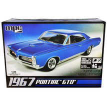 Skill 2 Model Kit 1967 Pontiac GTO 1/25 Scale Model by MPC MPC710L - $36.53