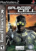 Tom Clancy's Splinter Cell: Pandora Tomorrow (Sony PlayStation 2) No Manual - $9.89