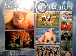 Sure-Lox Photo Gallery Wild Life 10 Deluxe Jigsaw Puzzles - $29.88