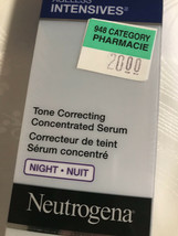 Neutrogena Ageless Intensives Tone Correcting Concentrated Serum Night - $51.48