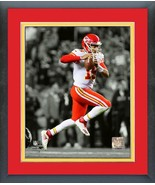 Patrick Mahomes 2018 Kansas City Chiefs - 11x14 Matted/Framed Spotlight ... - $42.95
