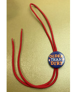 Vintage Older than Dirt Metal & Nylon Bolo Tie Hallmark Cards - $16.44