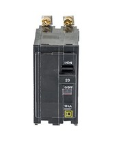 Square D by Schneider Electric QOB220CP 20-Amp Two-Pole Bolt-On Circuit ... - $46.55