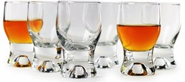 Circleware 42781 Tipsy Shot Set of 6 Heavy Base Glassware Drinking Glass... - $24.99