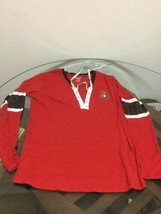 Ottawa Senators Hockey Red Reebok Long Sleeve Shirt Women's XL New Witho... - $14.84
