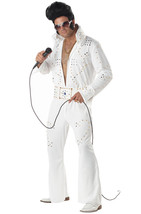Elvis Presley Rock Legend Las Vegas Adult Costume 4 men woman and teen s... - $38.61