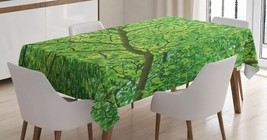Tree Branch Tablecloth Nature Plant Leaves Spring Dining Table Linen Cov... - $22.49