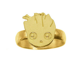Baby Groot Ring 24K Gold Plated jewelry Guardians of the Galaxy II Pick ... - $32.16