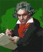 pepita Ludwig Van Beethoven Needlepoint Kit - $153.00
