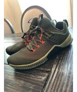 Nike Free Metcon Training Shoes Olive Canvas Black Total Crimson AH8141 342 - $123.75