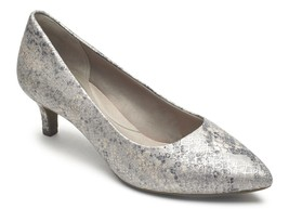 Womens Rockport Total Motion Kalila Pump - Blue/Silver Snake [CH4482] - $74.99