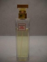 ELIZABETH Arden 5th AVENUE Eau De PARFUM GOLD Square TOPPER Used 2.5 FL OZ - $27.41