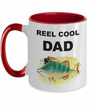 Fishing Mug for Men Funny Pun Fathers Day Gift for Dad Two Tone Coffee Cup - $19.75