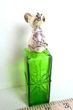 Avon Christmas Mouse Gift Box Decanter Vintage Empty Sweet Honesty - $12.38