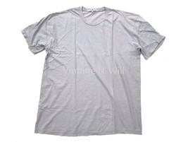 Junk Food Mens L Light Gray Distressed Destroyed Edge Basic Crew T-Shirt - $23.00