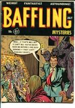 Baffling Mysteries #16 1954-pre-code horror-witch-vampire-violence-VG - $91.88