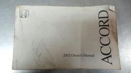 2002 Honda Accord 360 Page Owner's Manual 82871 - $14.95